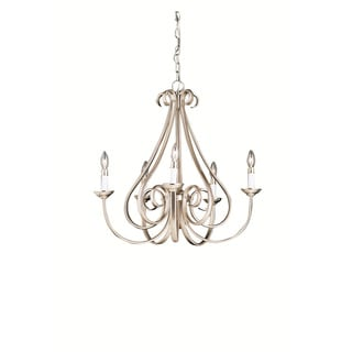 Kichler Lighting Dover Collection 5-light Brushed Nickel Chandelier