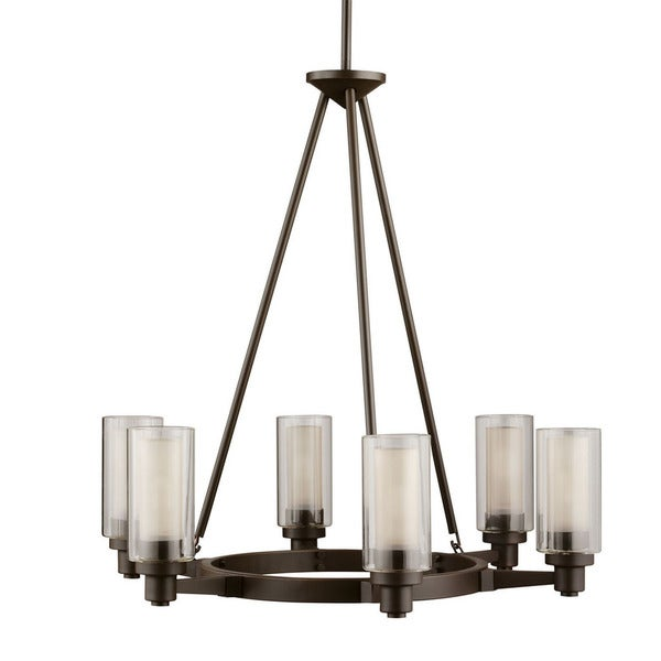 Kichler Lighting Circolo Collection 6-light Olde Bronze Chandelier