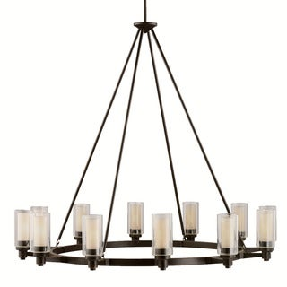 Kichler Lighting Circolo Collection 12-light Olde Bronze Chandelier