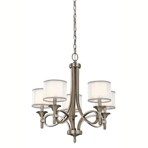 Lacey Collection 5 Light Antique Pewter