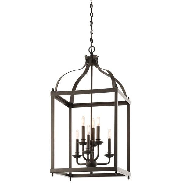 Kichler Foyer Chandelier : Shop kichler lighting larkin collection light olde