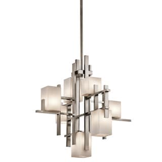 Kichler Lighting City Lights Collection 7-light Classic Pewter Chandelier