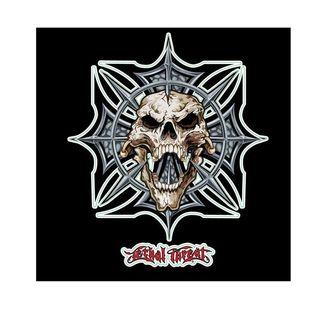Pilot Automotive 6-inch x 8-inch Spike Skull Vehicle Car Decal Stickers
