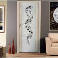 Music notes song Wall Art Sticker Decal