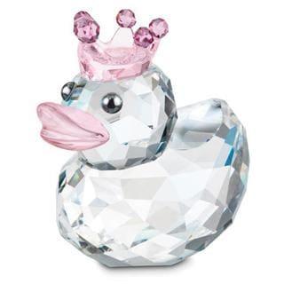 Happy Duck Princess Crystal Figurine