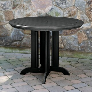 Highwood Eco-friendly Synthetic Wood 48-inch Round Counter-height Dining Table