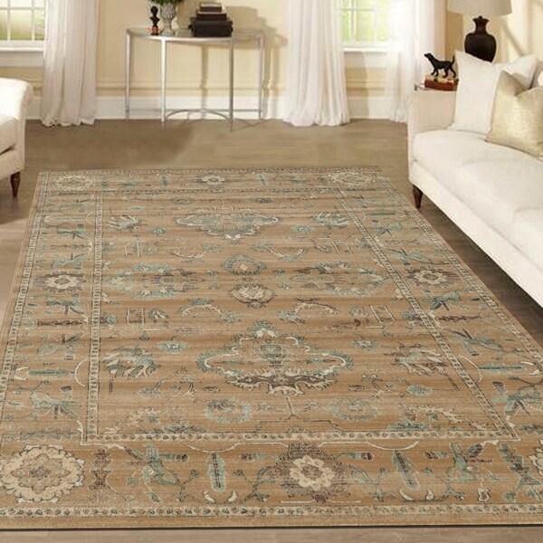 Admire Home Living Corina Oriental Area rug (7'10 x 10'6) - 7'10 x 10'6