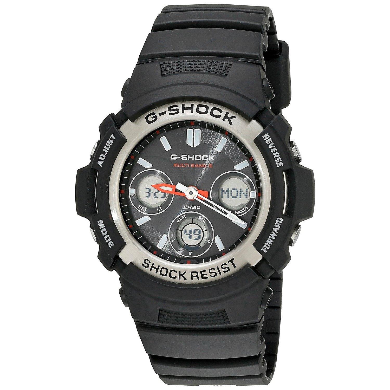 "Casio Men's AWGM100-1ACR ""Atomic G Shock"" Watch (Black), ..."