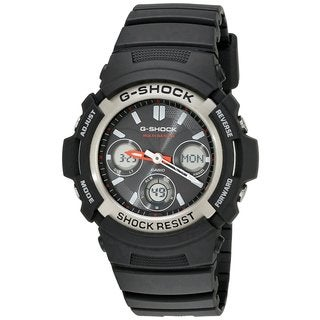 "Casio Men's AWGM100-1ACR ""Atomic G Shock"" Watch"