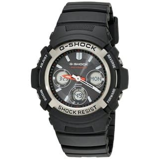 "Casio Men's AWGM100-1ACR ""Atomic G Shock"" Watch