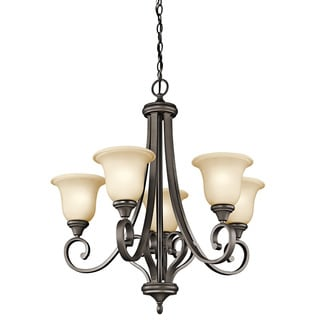 Kichler Lighting Monroe Collection 5-light Olde Bronze Chandelier