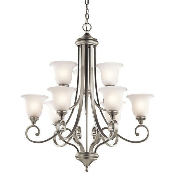 Kichler Lighting Monroe Collection 9-light 2-tier Brushed