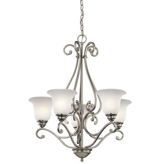 Kichler Lighting Camerena Collection 5-light Brushed Nickel Chandelier