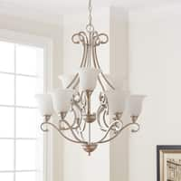 Kichler Lighting Camerena Collection 9-light Brushed Nickel Chandelier