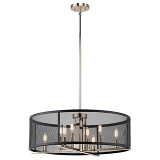 Kichler Lighting Titus Collection 8-light Polished Nickel Chandelier/Pendant
