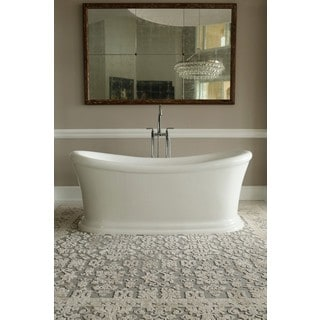 Signature Bath White Acrylic Freestanding Tub