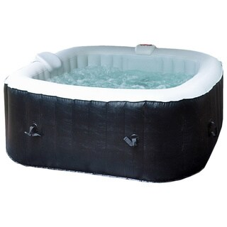 Deluxe 2 to 4 Person 110-Jet Inflatable Plug and Play Spa