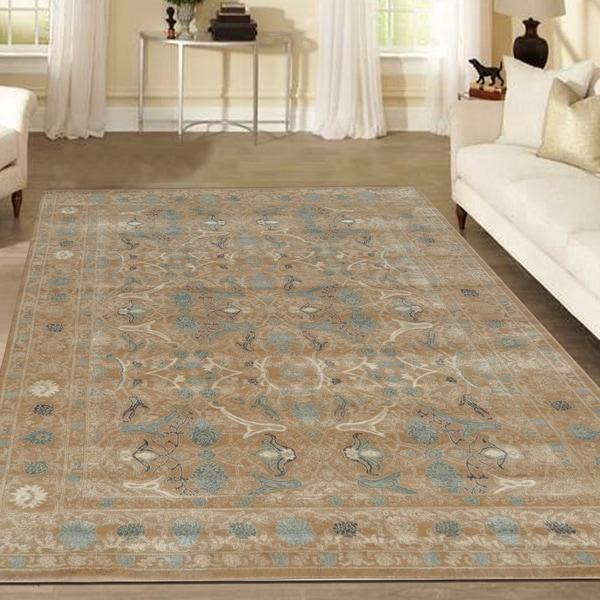 Admire Home Living Corina Tabriz Area rug (7'10 X 10'6) - 7'10 x 10'6