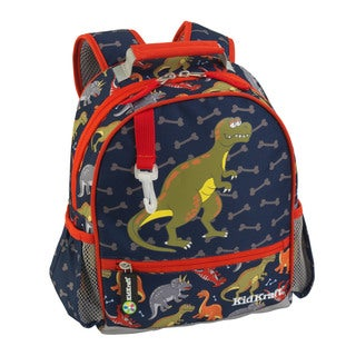 KidKraft Small Dinosaur Multicolor Polyester Backpack