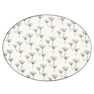 Lenox Around the Table Wish White Stoneware 16-inch Platter