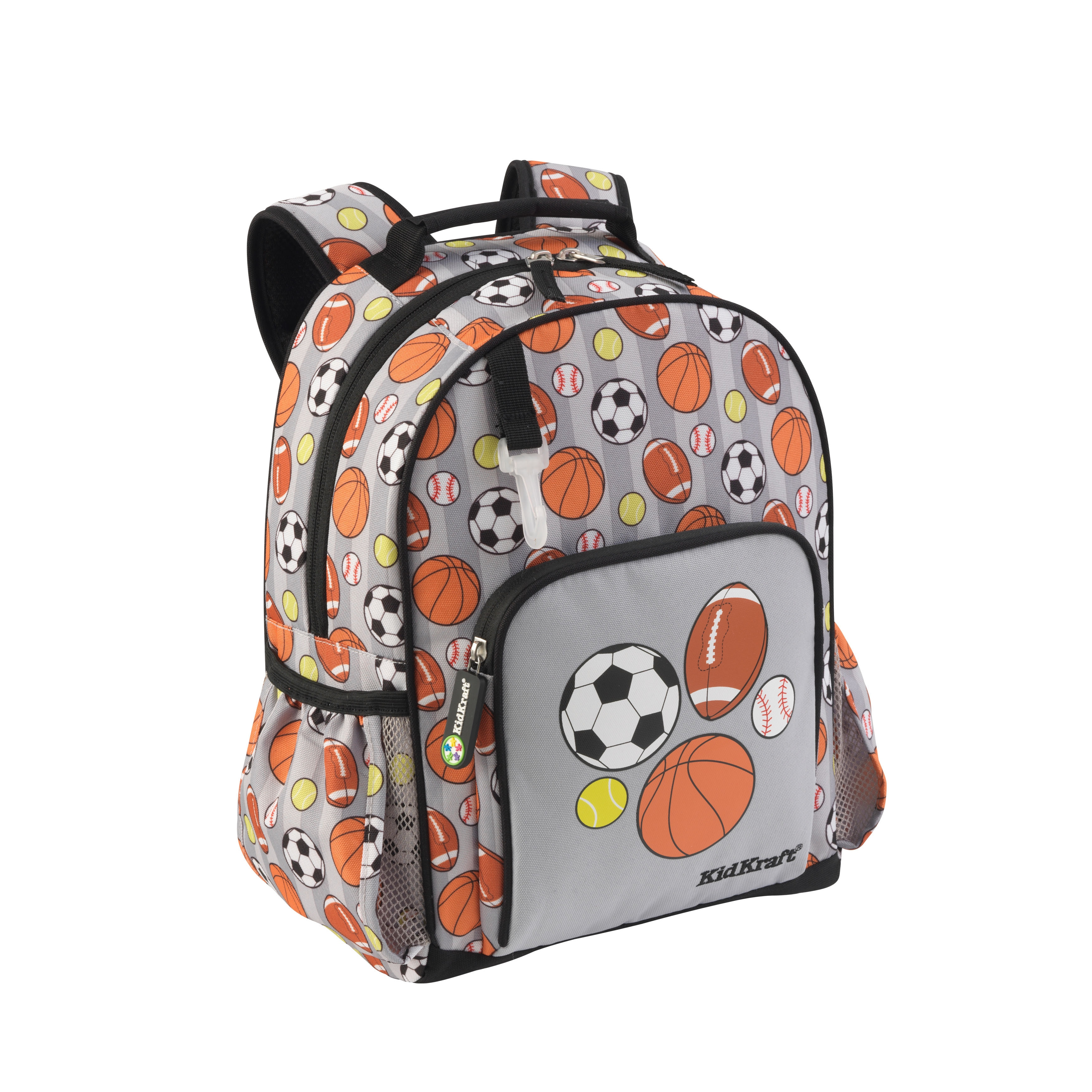 Kid Kraft Multicolored Polyester Printed Sports Backpack ...