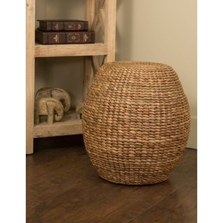Crafted Home Decorative Harrington Round Stool