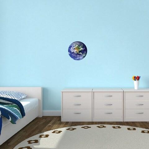 Earth Vinyl Wall Decal