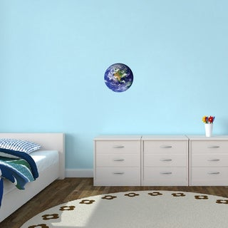 Earth Vinyl Wall Decal (4 options available)