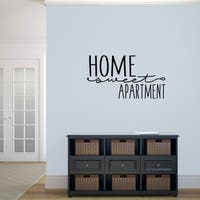 Home Sweet Apartment' 36 x 20-inch Vinyl Wall Decal