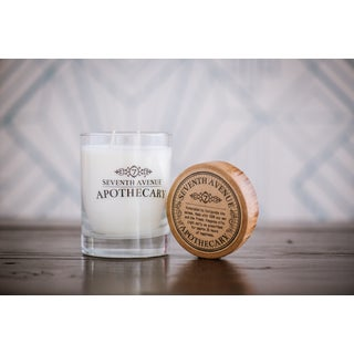 Hand-poured Vetiver and Leather Artisan Soy Candle