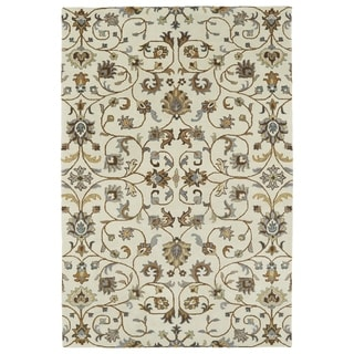 Hand-Tufted Perry Linen All-Over Wool Rug (3'0 x 5'0)