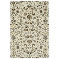 Hand-Tufted Perry Linen All-Over Wool Rug (3' x 5')