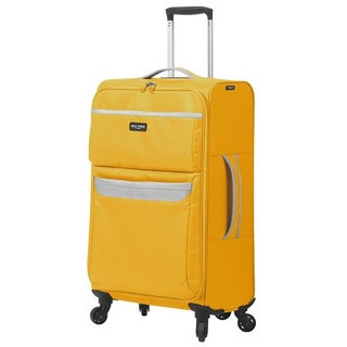 Mia Toro Italy Bernina Nylon 24-inch Medium Expandable Spinner Upright Suitcase