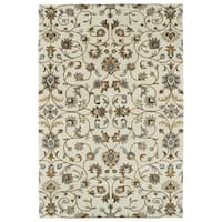 Hand-Tufted Perry Linen All-Over Wool Rug - 5' x 7'9""