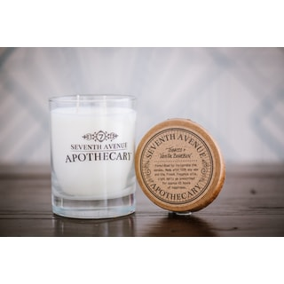 Hand-poured Tobacco and Vanilla Bourbon Artisan Soy Candle
