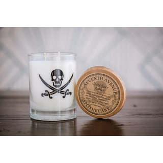 Hand-poured Spiced Rum and Coconut Artisan Soy Candle