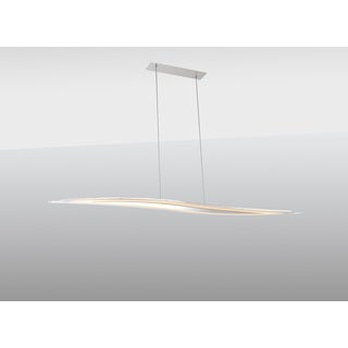 Contempo Lights Palazzo White Glass Pendant Lamp