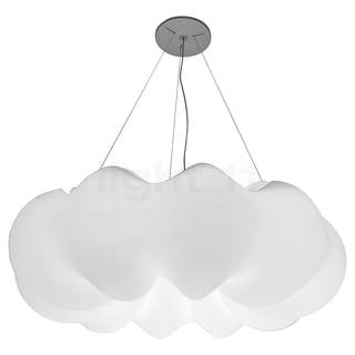 Contempolights Plume White Plastic Pendant Lamp