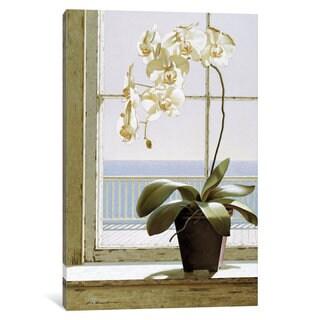 iCanvas Flower In Window by Zhen-Huan Lu Canvas Print