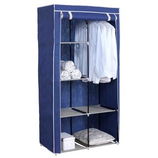 Sunbeam Freestanding Blue Fabric Storage Closet