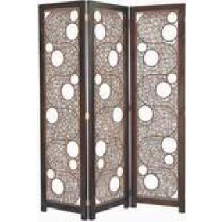 Crafted Home Decorative Amy Tri-Fold Divider