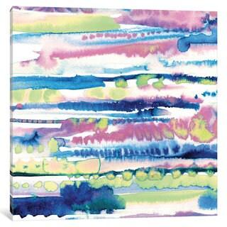 iCanvas Silky Designs II by Wild Apple Portfolio Canvas Print