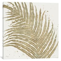 iCanvas Gold Leaves I by Wellington Studio Canvas Print
