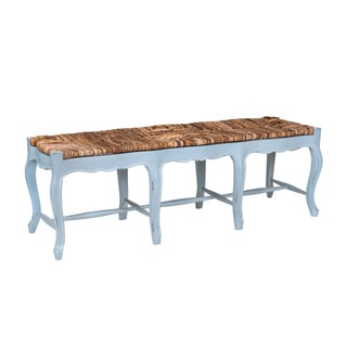 Crafted Home's Kukoc Woven Top Bench