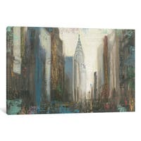 iCanvas Urban Movement I (NYC) by Myles Sullivan Canvas Print