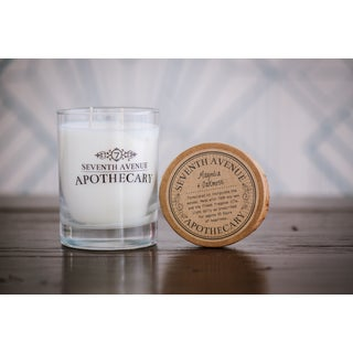 Hand-poured Magnolia and Oakmoss Artisan Soy Candle