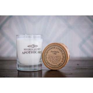 Hand-poured Minted Grapefruit and Sage Artisan Soy Candle