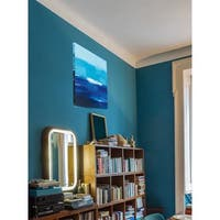 Cerulean Seas Stretched Canvas Wall Art