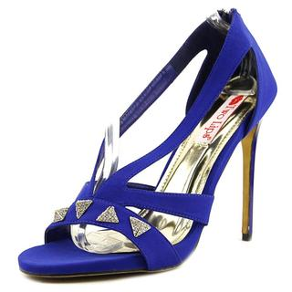 Two Lips Women's 'Pyramid' Blue Fabric Sandals