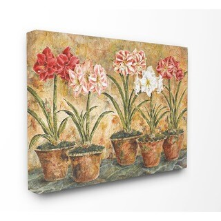 Terrace Companions Stretched Canvas Wall Art